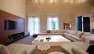 Sala de Estar Moderna Living