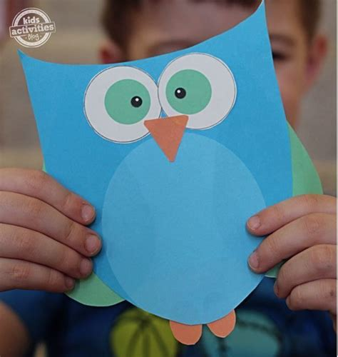 cute  easy printable owl template owl crafts
