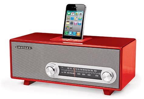 iphone radio crosley ranchero retro iphone radio
