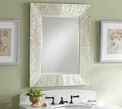large bathroom mirror ideas bathroom vanity mirrors pottery barn