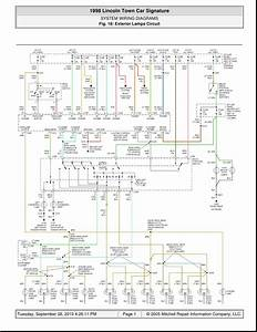 2007 Lincoln Town Car Wiring Diagram