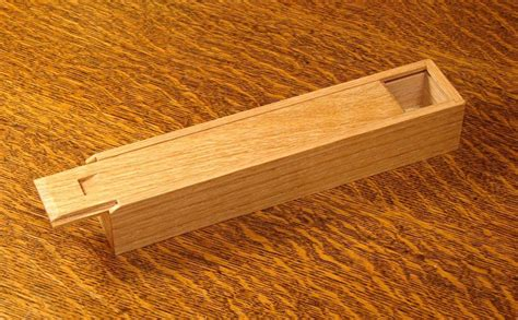 simple pencil boxes woodworking   wooden