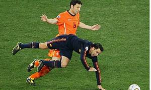 Netherlands v Spain: the World Cup 2010 final in ...