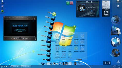 Как Установить На Рабочий Стол Картинку Windows 7
