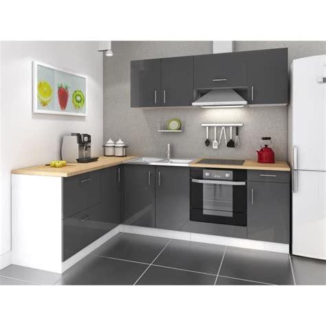 meubles haut de cuisine pas cher meuble de cuisine noir pas cher