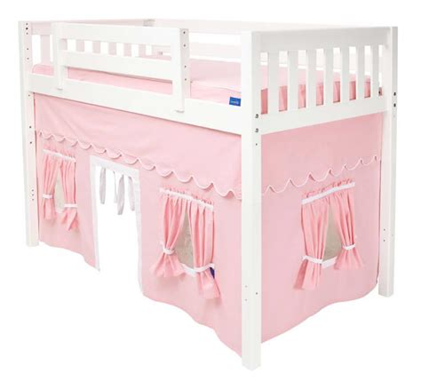 loft bed with maxtrix curtain colors