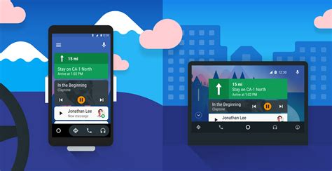 Android Auto Bedienkonzept Design by Introduction Android Auto