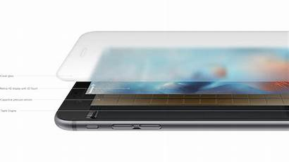 Touch 3d Iphone 6s Apple Screen Layers