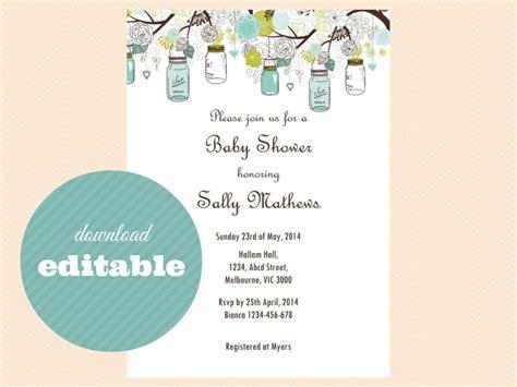 editable invitations  edit print magical