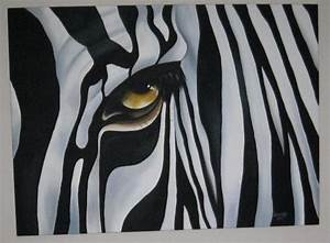 Zebra Painting - Chantal Fielding