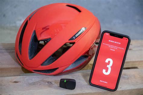 hands  specialized angi helmet crash sensor dc rainmaker