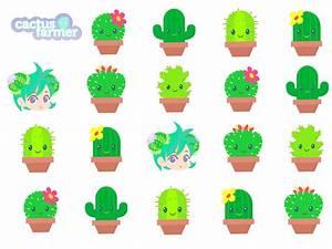 Cactus Drawing Wallpaper Cute - WallsKid
