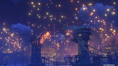 dont miss genshin impacts beautiful lantern rite finale