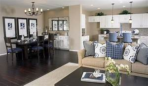 Kitchen, Dining, Room, Hearth, Room, Combo