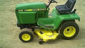 John Deere 316 16 Hp Lawn Tractor