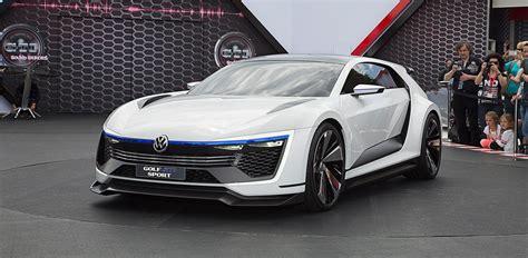 volkswagen golf gte sport concept debuts  worthersee