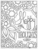 Coloring Pages Adult Happy Today Awesome Going Printable Quote Smilingcolors Printables Quotes Sayings Birthday Pencils Inspirational Thoughts Print Books Sheets sketch template