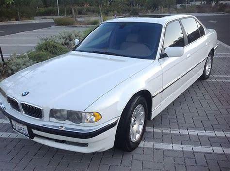 Buy Used 2001 Bmw 740il Base Sedan 4-door 4.4l White / Tan