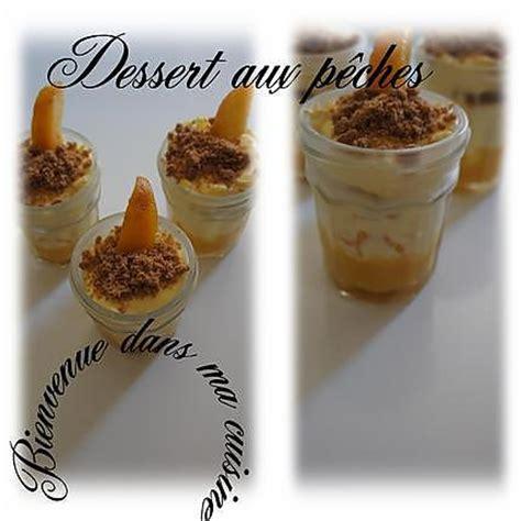 recettes dessert avec peches fraiches recette de dessert aux p 234 ches