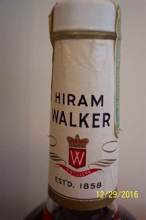 cellar bourbon private whisky unopened hiram straight walker