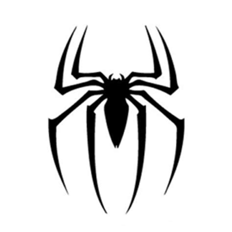 spiderman symbol stencil  stencil gallery