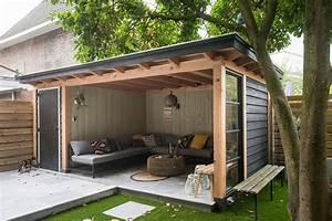 veranda staal raam scandinavisch 1 garten pinterest With nice amenagement de piscine exterieur 6 terrasse couverte vieux bois