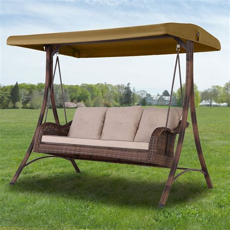 sicily swing bigs lots patio swing replacement canopy garden winds