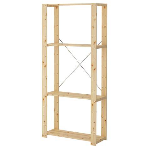 Ikea Sten Regal by Hejne 1 Section Softwood 78 X 31 X 171 Cm Ikea