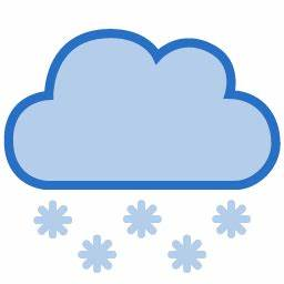 Cloud Dark Snow Icon - Vector Stylish Weather Icons ...