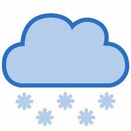 Cloud Dark Snow Icon - Vector Stylish Weather Icons ...