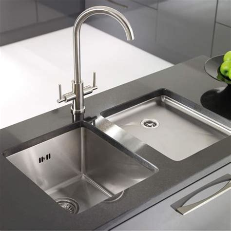 material kitchen sinks taps