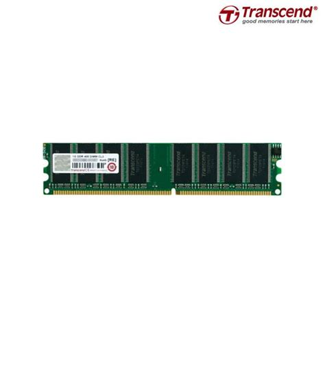 Transcend 1GB DDR1 RAM (JM388D643A5L)  Buy Transcend 1GB