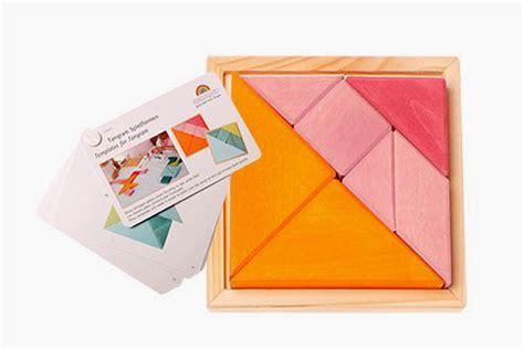 siege auto premier age grimm 39 s puzzle chinois tangram en bois orange