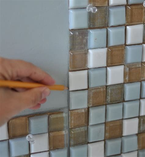 Mosaic Bathroom Mirror Diy by Diy Mosaic Tile Bathroom Mirror Centsational