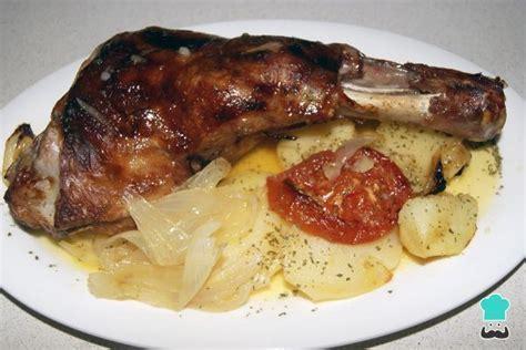 andalusian lamb shoulder tomatoes potato recipe enregistree depuis