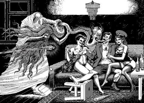Uno Moralez' Wonderfully Creepy Cartoons / Boing Boing