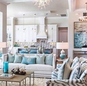 wonderful ideas for interior design With beach living room decorating ideas 2