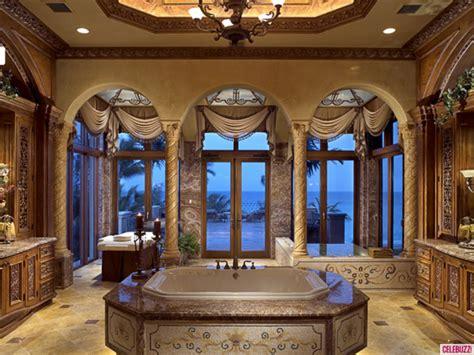 mansion bathrooms  chris clines beachfront mega
