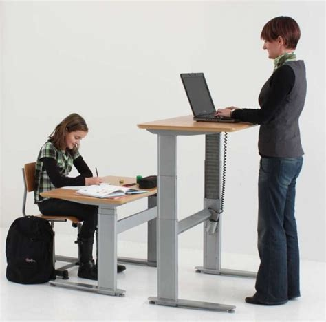 height adjustable sit stand desk conset 501 27 sit stand height adjustable desks free