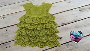 Robe Merveille  Tutoriel Au Crochet  Gratuit Pr U00e9sent U00e9 Par