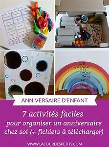 Activites Enfant 2 Ans : un anniversaire tout en couleur pour ses 6 ans la cour des petits ~ Melissatoandfro.com Idées de Décoration