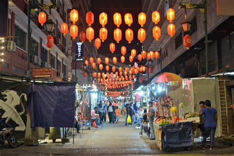 kuala lumpur chinatown  girls traveling