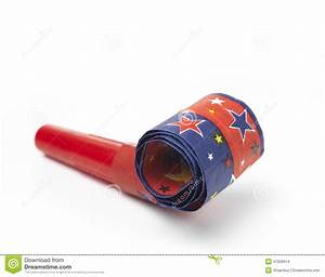 Party Horn Blower stock photo. Image of pattern, party ...