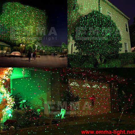 red and green elf laser lights christmas lights garden