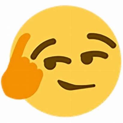 Emoji Thinking Transparent Discord Clip Thinkaboutit Background