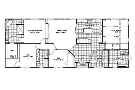 elegant norris modular home floor plans  home plans design