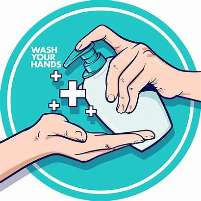 Wash Hands Lava Mains Manos Premium Mani