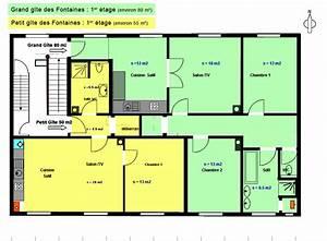 stunning plan de maison de luxe etage gallery amazing With plan de maison a etage