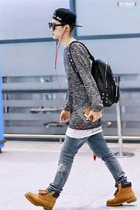 GOT7 MARKu0026#39;S AIRPORT FASHION - Kpop Korean Hair and Style