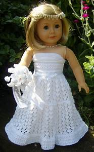 american girl doll top down wedding dress pdf by jacknitss With american girl doll wedding dress